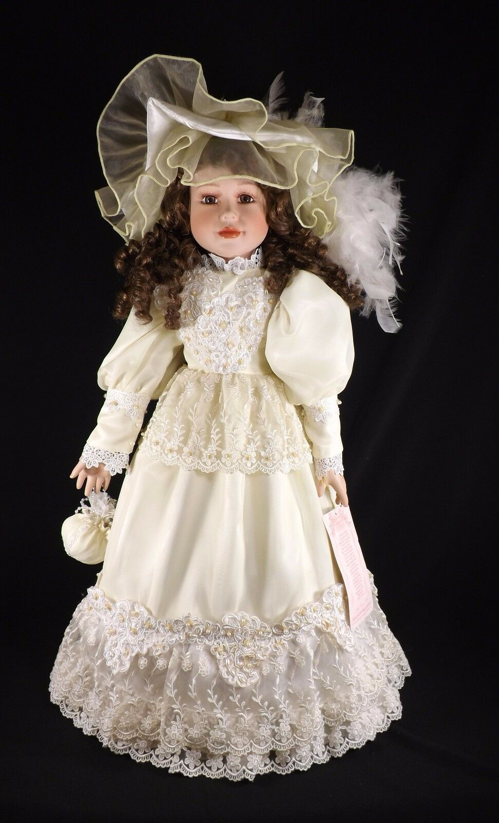EXQUISITE PORCELAIN 27  AMERICAN CLASSICS HANDCRAFTED JUDY DIANNE VICTORIAN DOLL