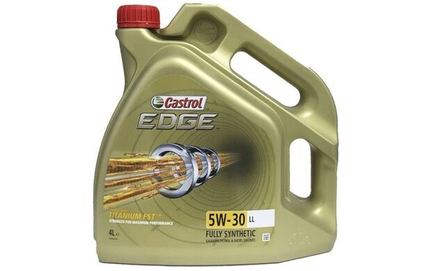 CASTROL EDGE TITANIUM Long Life Sintético SAE 5W30 Aceite de Motor 4L 15668A