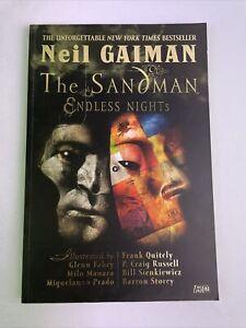 The Sandman: Endless Nights - First Print 2003 Neil Gaiman Comic Trade Paperback
