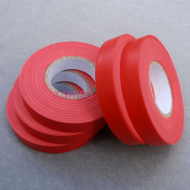 5 Roll Red Tape for Tying Machine parts / supplies (98ft each tape)