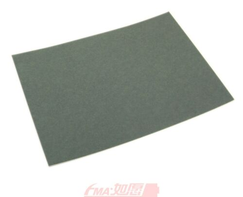 10Pcs Fish Adhesive Paper 0.5*180*250mm for Battery Electrical Insulating Grey