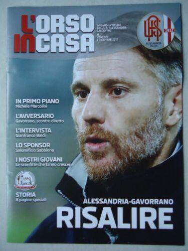 Alessandria Programm Italien 1.12.2017 U.S Gavorrano