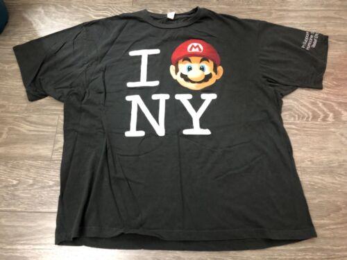 Nintendo Hurricane Sandy Relief I Love NY T Shirt