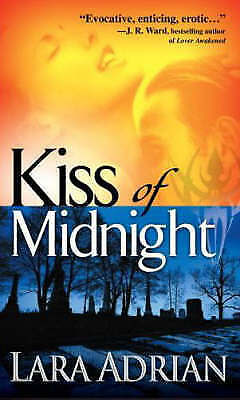 1 of 1 - Kiss of Midnight by Lara Adrian Small Paperback 20% Bulk Book Discount