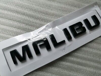 2x OEM LTZ Letter Nameplate Emblem 3D Badge Chevrolet Silverado Sierra glossy BK