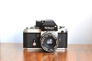 NIKON-F2-DP-1-Viewfinder-Professional-35mm-film-camera-w-Nikkor-50mm-Lens