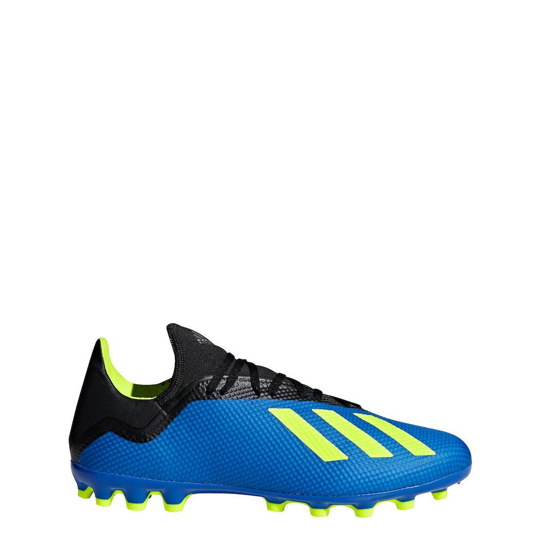 Adidas x 18.3 AG Azul Negro Amarillo [cg7163]
