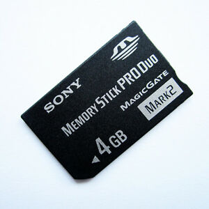 Original-Sony-4GB-Memory-Stick-Pro-Duo-Magic-Gate-Mark2-High-Speed-Memory-card