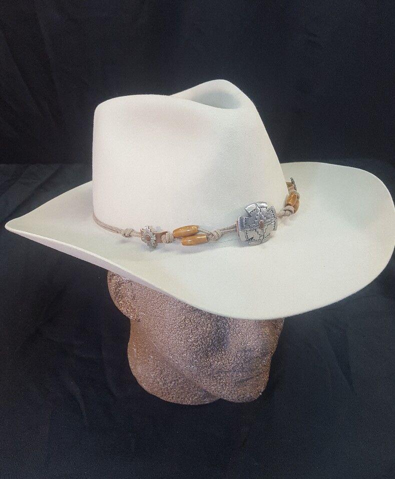 STETSON  THE GUN CLUB  Dune Cowboy Style Hat 6.75/54 76-Sandsotone  Style Cowboy  SF04417632 924a28