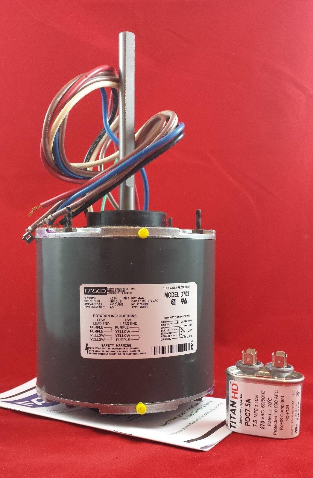 D Fasco Blower Motor Wiring Diagram on
