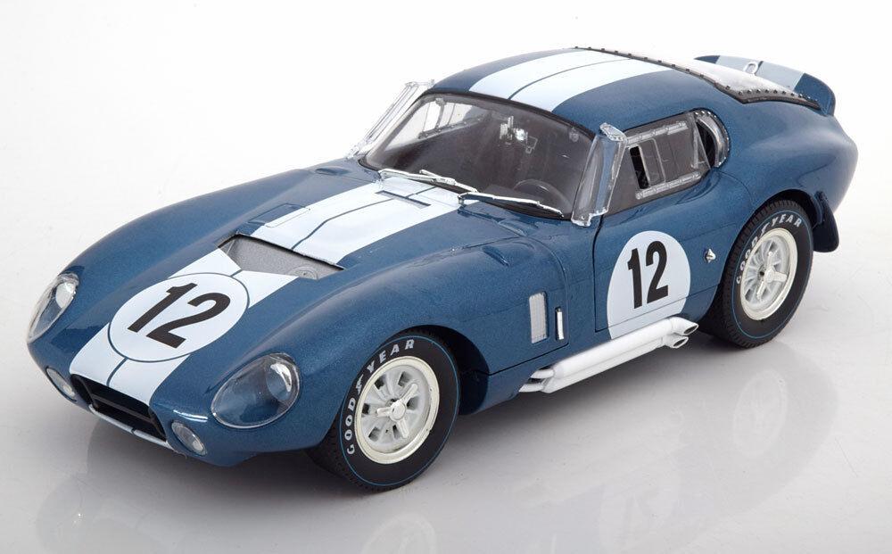 1:18 CMR Shelby Cobra Daytona Coupe #12, 24h Le Femmes Schlesser/Grant | Une Bonne Conservation De La Chaleur