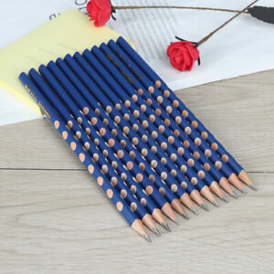 12Pcs-box-groove-slim-triangle-wooden-HB-correction-writing-standard-pencil-AB