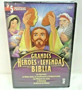 Grandes-Heroes-e-importantes-de-la-Biblia-la-Biblia-historias-biblicas-DVD-ESPANOL-NUEVO