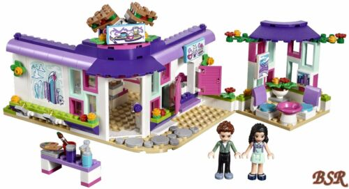 LEGO® Friends 41336 Emmas Künstlercafé /& 0.-€ Versand /& NEU /& OVP !