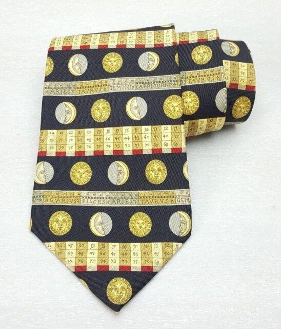 The Metropolitan Museum Of Art Astrology Moon Sun Men's Neck Tie