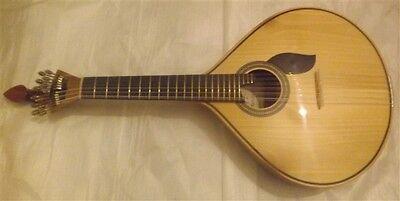 Portuguese fado guitar Lisboa