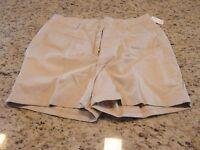 Vintage Throwback Gitano Womens White/off-white Shorts Size 20w 34