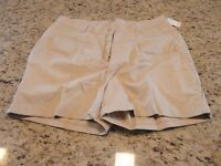 Vintage Throwback Gitano Womens White/off-white Shorts Size 20w 34