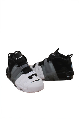 NIKE MEN BLACK COOL GREY WHITE AIR MORE UPTEMPO ''96 921948-002