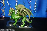 1 Forest Dragon Green Dragon Safari .. 4 1/2 Inch High Dragon Cool Dragon