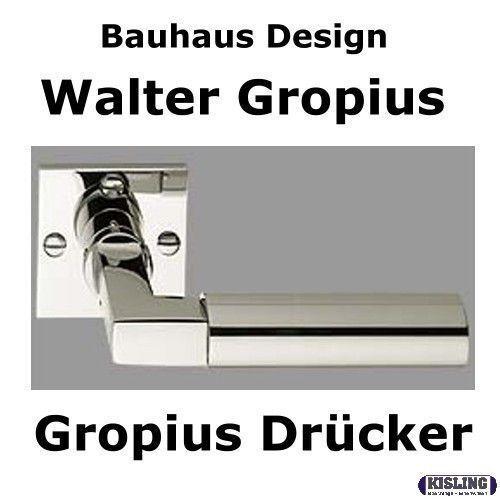 TecnoLine Walter Gropius Bauhaus-Design Türbeschlag | Das hochwertigste Material  | Preisreduktion  | Auktion  | Reparieren