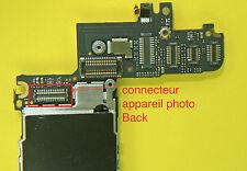 Remplacement connecteur Appareil photo AR iphone 4  soudure repair carte mere