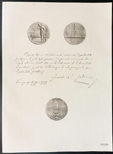 1926-Litografia-citazione-il-maresciallo-Cadorna