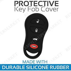 Key Fob Cover For 2008 Chrysler Crossfire Remote Case Rubber