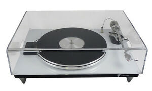 Turntable-Dust-Cover-Clear-Acrylic-460-w-x-420-d-x-205mm-h-Perspex-Guard