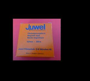 JUWEL Film-Bespurungsband 0,8mm - 250m NEU, Agfa-F5 Band - Friedberg, Deutschland - JUWEL Film-Bespurungsband 0,8mm - 250m NEU, Agfa-F5 Band - Friedberg, Deutschland