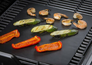 Non-stick-BBQ-Grill-Mat-Barbecue-Baking-Liners-Reusable-Teflon-Sheets-33x40cm