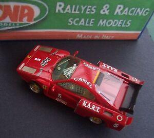 Ferrari-308-biturbo-24H-Le-Mans-Hand-Built-ARENA-1-43-coda-lunga-modified-NART