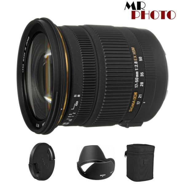 Sigma EX DC OS HSM 17-50mm F/2.8 Lens For Nikon * BRAND NEW*