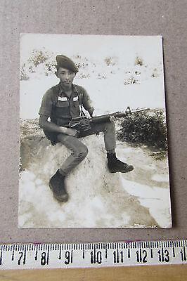 Vietnam war_ARVN beret  M16A1