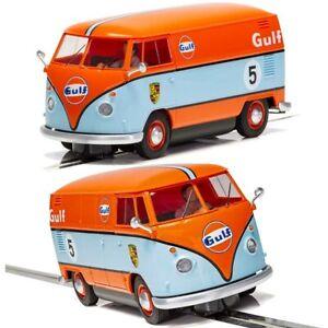 SCALEXTRIC-Slot-Car-C4060-Volkwagen-Panel-Van-Gulf-Edition