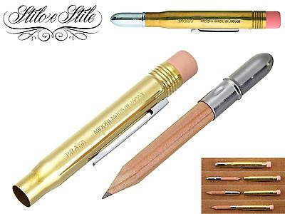 Midori Brass Pencil Bullet | Matita | Midori Brass Pen | Traveler's Notebook