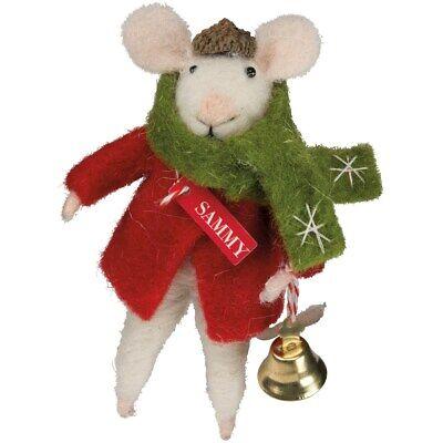 Merry Christmas Felt Mouse PBK Christmas Decor