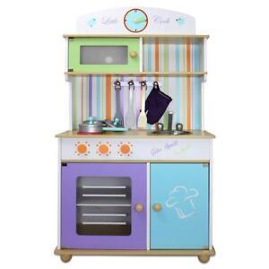 Cuisine pour enfants de jeux en bois jouet ebay - Jeux de cuisine pour enfants ...