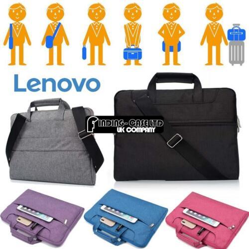 For Various 15.6 LENOVO Laptop Notebook Sleeve Case Handbag Shoulder Bag