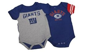 f12caba2 Details about NFL New York Giants Merchandise Baby Infant Size 2 Piece  Creeper Bodysuit New