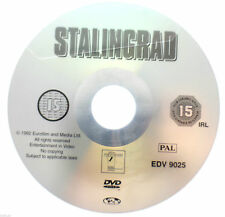 Stalingrad DVD R2 PAL - Dominique Horwitz World War 2 Movie DISC ONLY in Sleeve