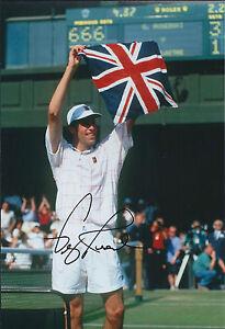 Greg-RUSEDSKI-Signed-12x8-Autograph-Photo-AFTAL-COA-Wimbledon-Tennis-ATP-RARE
