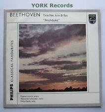 """GBL 5639 - BEETHOVEN - Trio No 6 """"Archduke"""" ISTOMIN SCHNEIDER - Ex Con LP Record"""