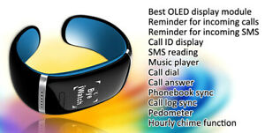 Excelvan L12s Smart Bracelet Oled Sports Pedometer Smart Wristband Bluetooth Sma Ebay