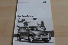 132903) VW Cross Touran - Preise & Extras - Prospekt 10/2007