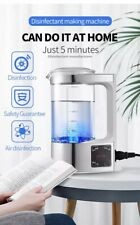 Portable Electric Hypochlorous Acid Water Generator Disinfection Water Maker