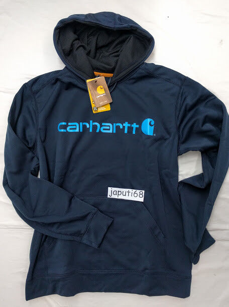 3ba8120735eef4 Carhartt Extreme Graphic Sweatshirt Large NAVY  BX70-2314  Force ...