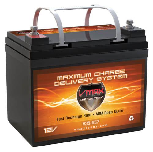 VMAX857 Trolling Motor AGM Battery for Sevylor 12V Electric Trolling Motor