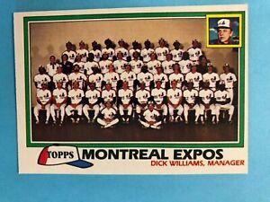 1981Topps-Baseball-Montreal-Expos-Team-Set-27-cards-Carter-Dawson-Rogers