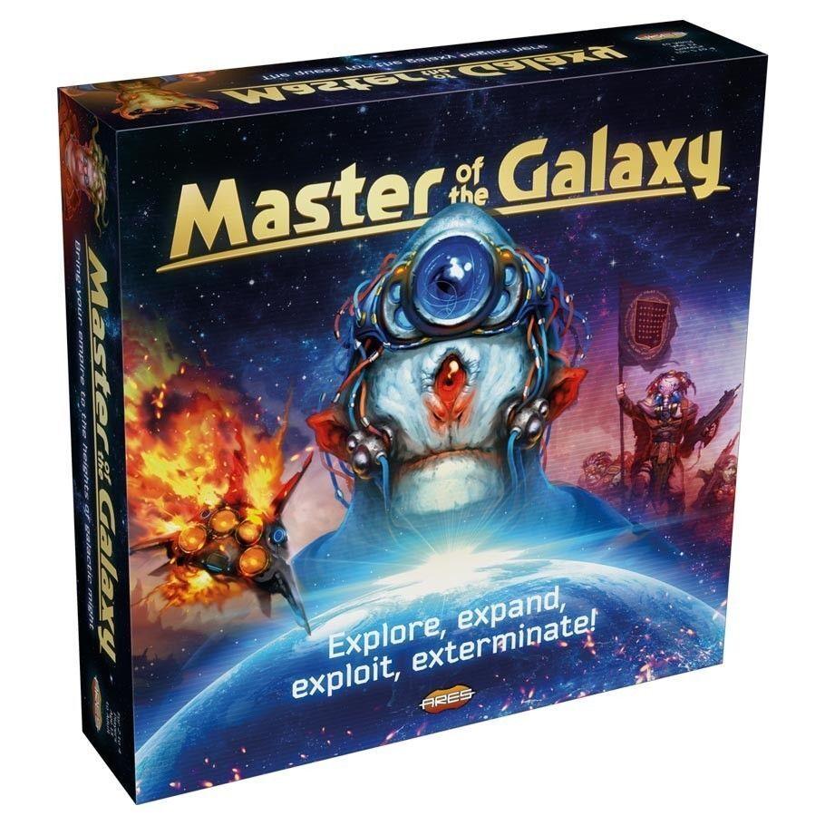 Meister der galaxie brettspiel strategie ares - spiele areartg003